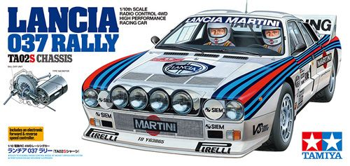 LANCIA 037 RALLY TA02S KIT RC 1/10