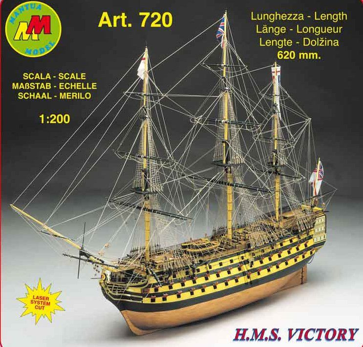 H.M.S. VICTORY KIT 1/200
