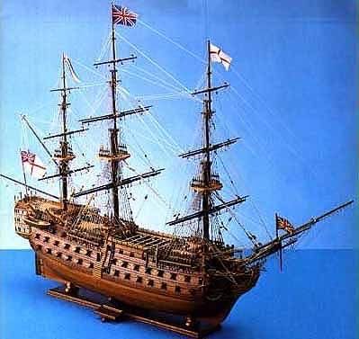 H.M.S. VICTORY NAVE INGLESE DI 1° RANGO 1805