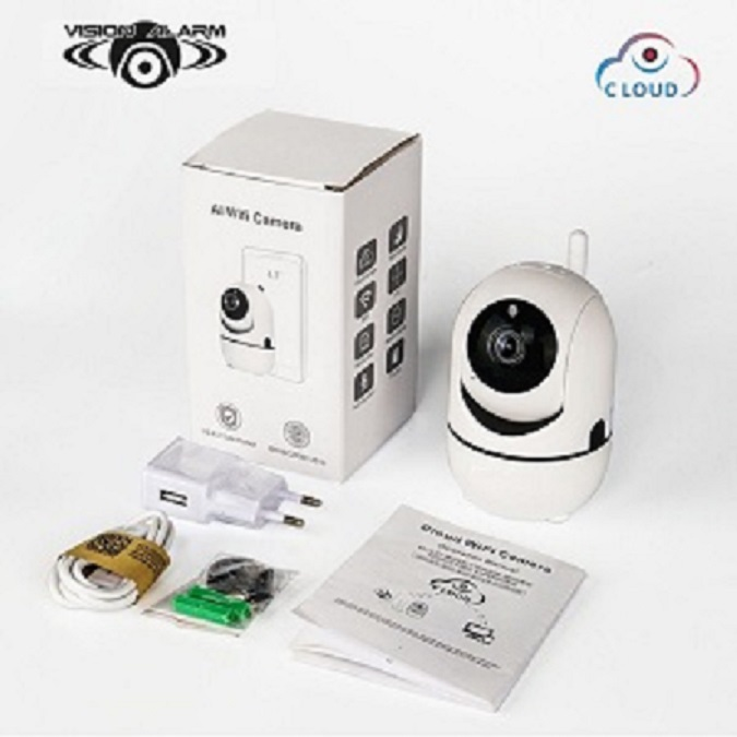 TELECAMERA WiFi SMART 720p CON AUTOTRACK