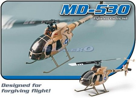 MD-530 FLYBARLESS MINI ELICOTTERO RC