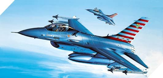 F-16AFIGHTING FALCON 1/72 (12444)