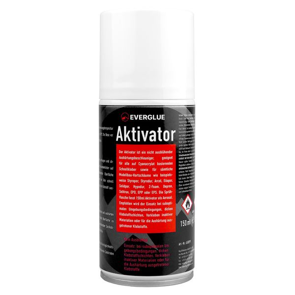 ATTIVATORE PER CIANOACRILICA EVERGLUE SPRAY 150 ml