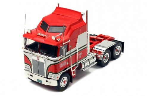 KENWORTH K100 AERODYNE 1976 RED 1/43 IXO