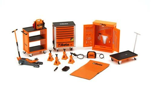 ACCESSORI BETA DA OFFICINA TOOL KIT 1/18