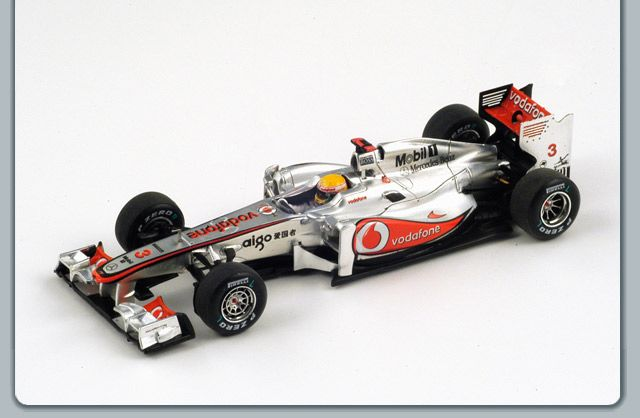 McLAREN MERCEDES GP 2011 WINNER CHINESE HAMILTON 1/43