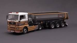 MAN TGA DUMPER TRAILER 1/24
