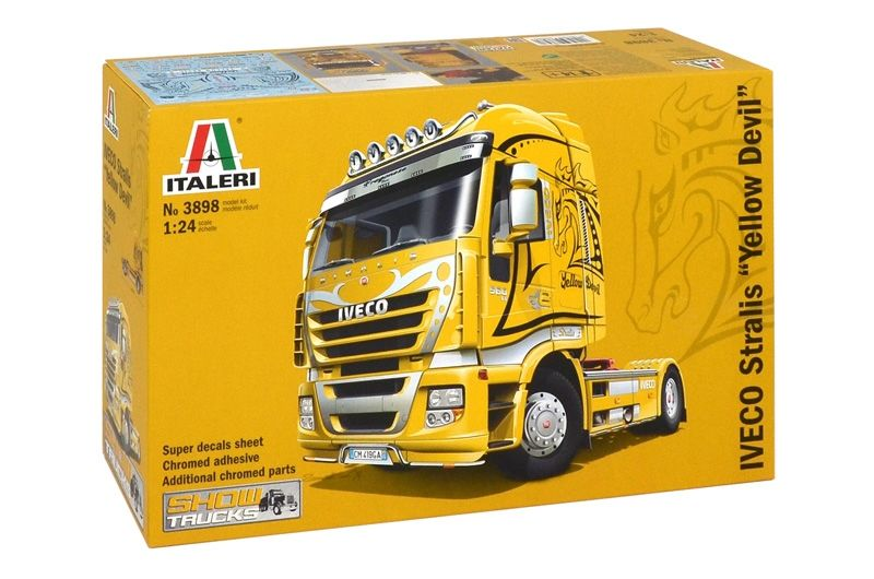 "IVECO STRALIS ""YELLOW DEVIL"" 1/24"
