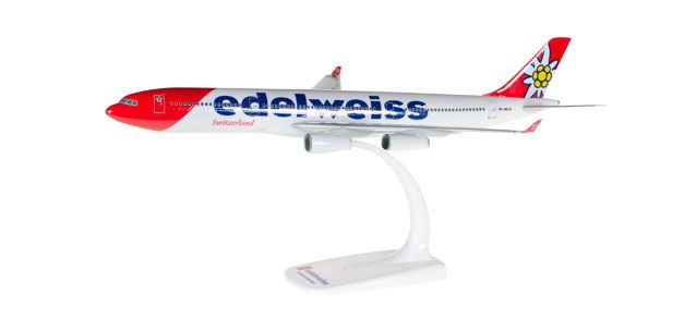 AIRBUS A340-300 EDELWEIS AIR SNAP FIT 1/200 HERPA