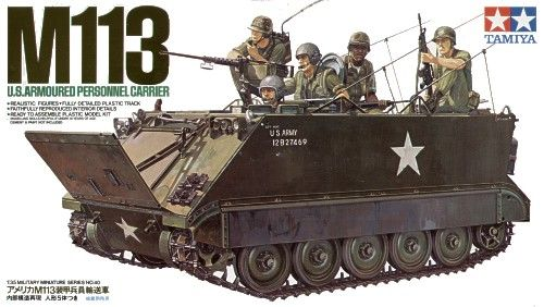 CARRO US M113 ARMOURED PERSONNEL CARRIER 1/35