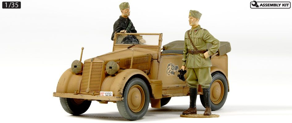 "AUTO 508CM ""COLONIALE"" STAFF CAR 1/35"