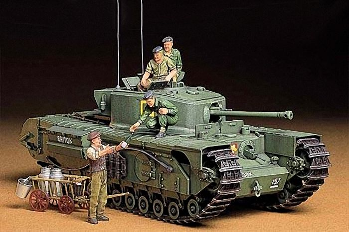 BRITISH INFANTRY TANK MK.IV CHURCHILL MK,VII 1/35 KIT TAMIYA