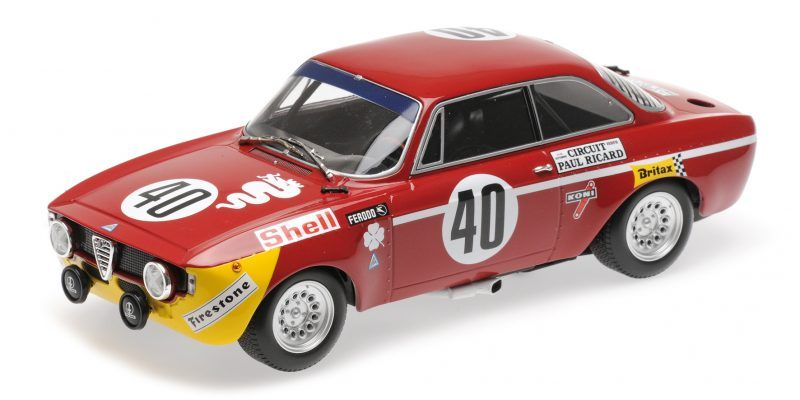 ALFA ROMEO GTA JUNIOR WINNER 12H PAUL RICARD 1/18